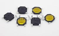 BM06 Кнопка тактовая SMD мембрана 4.8 x 4.8 x 0.8 мм