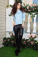 Асимметричная блуза-фрак
