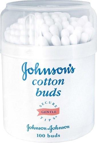 Палочки ватные JOHNSON'S®, 100 шт.
