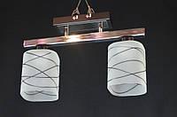 Люстра потолочная на две лампы  Pr2640-2Bk