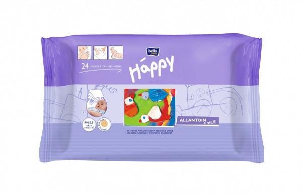 Влажные салфетки Bella Happy, 24 шт.