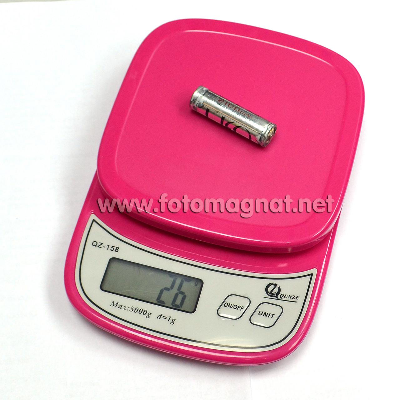 Весы кухонные электронные QZ-158, 5кг (0.5г) (электронные весы)