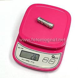 Ваги кухонні електронні QZ-158, 5кг (0.5 м) (електронні ваги)