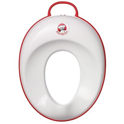 Сиденье для унитаза BabyBjorn, белый с красным