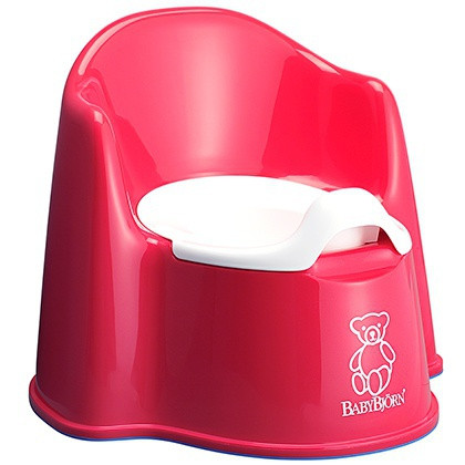 Горшок-кресло BabyBjorn, красный