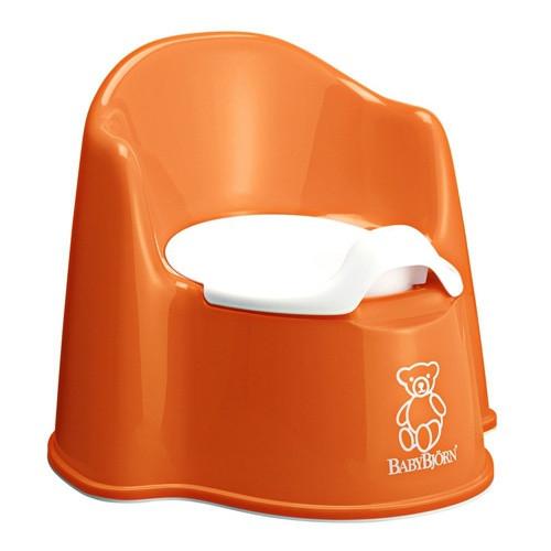 Горшок-кресло BabyBjorn, оранжевый
