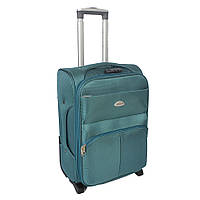 "Большой чемодан на колесах Sanjerly 28"" - бирюзовый"