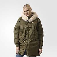 2fa2eff9900a 4000UAH. 4000 грн. В наличии. Женская куртка Adidas Originals Long Bomber ( Артикул  AY4774). Адидас официальный интернет - магазин ...