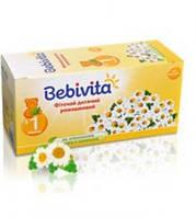 Детский фиточай с ромашкой Bebivita в пакетиках, 20 шт.