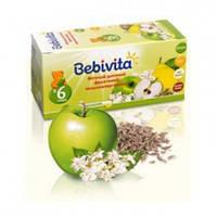 Детский фруктовый фиточай Bebivita низкоаллергенный в пакетиках, 20 шт.