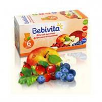 Детский фруктовый фиточай Bebivita витаминный в пакетиках, 20 шт.