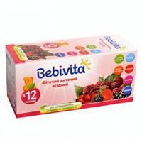 Детский фиточай Bebivita ягодный в пакетиках, 20 шт.