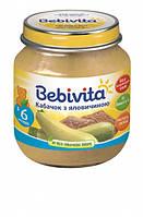 Пюре Bebivita Говядина с кабачком, 100 г