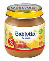Пюре Bebivita Персик, 190 г