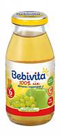 Яблочно-виноградный сок Bebivita, 200 мл