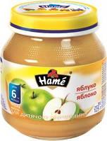Фруктовое пюре Hame яблоко, 125 г