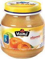 Фруктовое пюре Hame яблоко и абрикос, 125 г