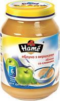 Пюре Hame яблоко со сливками, 190 г