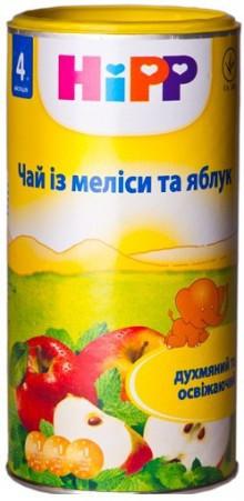 Детский чай из мелиссы и яблок HiPP в гранулах, 200 г