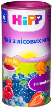 Чай из лесных ягод HiPP в гранулах, 200 г