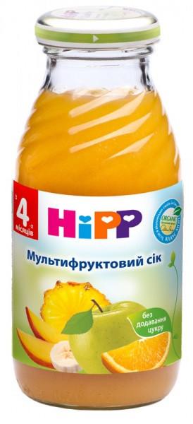 Мультивитаминный сок HiPP, 200 мл