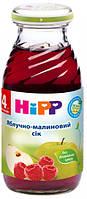 Яблочно-малиновый сок HiPP, 200 мл
