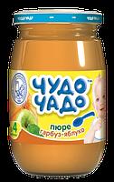 Пюре Чудо-чадо Яблоко и тыква с сахаром, 170 г