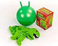 """Мяч попрыгун с рожками """"Динозавр"""""""