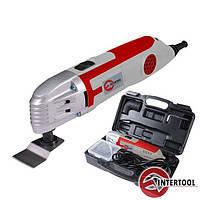 Intertool DT-0525 Мультинструмент 250 Вт 15000-22000 ход/мин аксессуары кейс