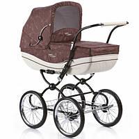 Универсальная коляска Geoby C605 - R327, коричневый с бежевым