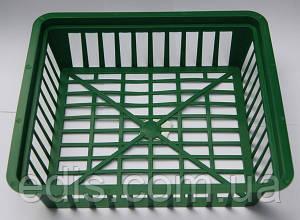 Корзинка для луковиц прямоугольная 28х25 см