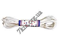 Резинка-шнур белая Оптом Т386