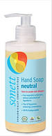 Органическое нейтральное жидкое мыло для мытья рук, тела, волос Sonett, 300 мл