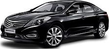 Защита двигателя на Hyundai Grandeur (с 2011--)