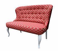 """Классический двухместный диван """"Ретро"""" в стиле барокко (128 см)"""