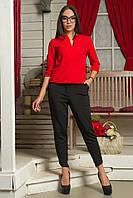 Яркая блузка с 44 по 52 размер  4 цвета