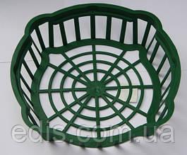 Корзинка для луковиц овальная диаметр 25 см