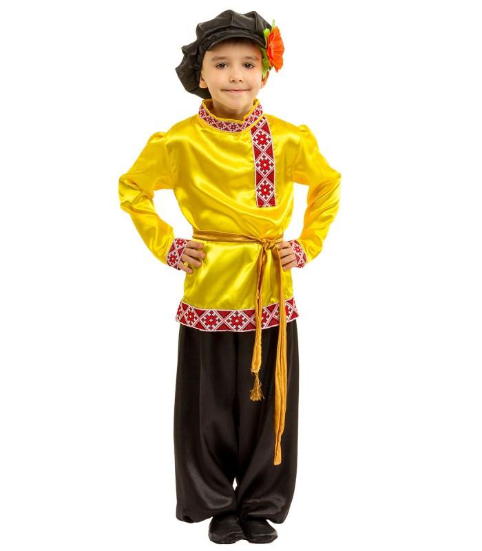 Карнавальный национальный костюм Иванушки (5-10 лет)