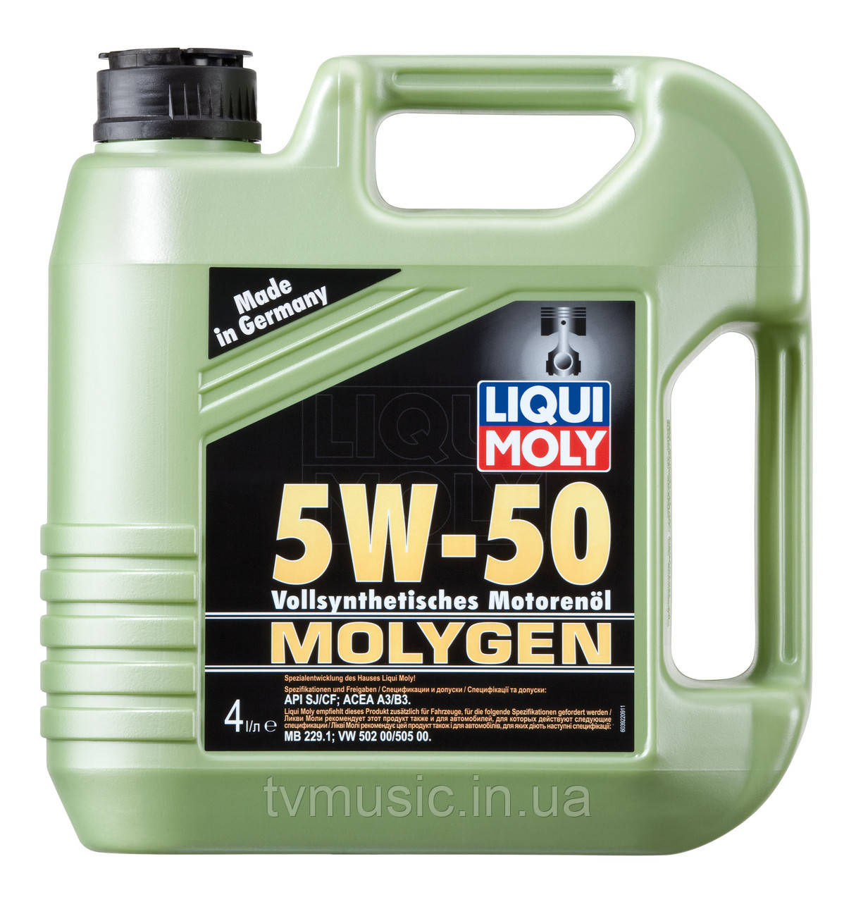Масло моторное Liqui Moly Molygen 5W-50 4 литра
