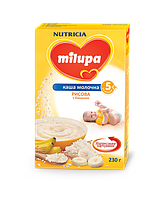 Молочная каша Milupa рисовая с бананом, 230 г