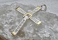 Крест Торетто серебро