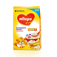 Молочная каша Milupa кукурузно-рисовая с бананом, 210 г