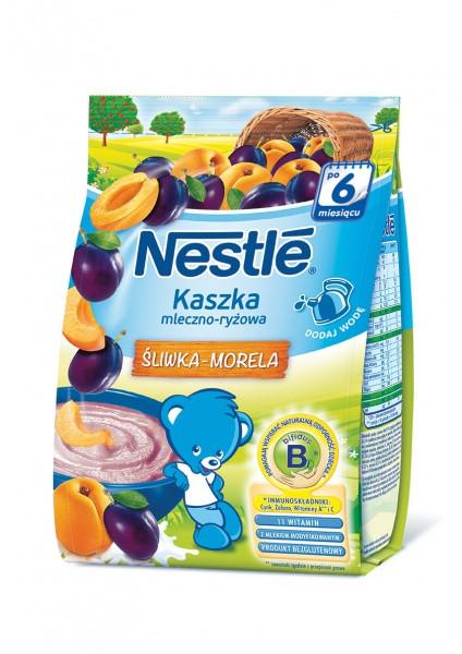 Молочная каша Nestle Рисовая со сливой и абрикосом, 230 г