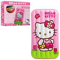 Детский надувной матрац 48775 Hello Kitty 88-157-18 см