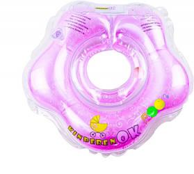 Круг для купания KinderenOK Baby, сиреневый