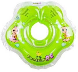 Круг для купания KinderenOK Baby, зеленый