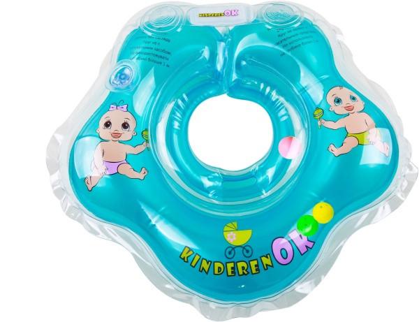 Круг для купания KinderenOK Baby, синий