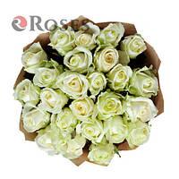 Аваланч 25 белых роз