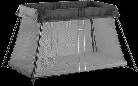 Складной манеж-кровать Babybjorn Light, черный