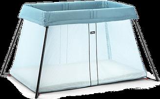 Складной манеж-кровать Babybjorn Light, бирюзовый